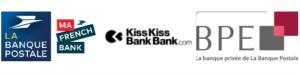 Filiales Banque Postale : Ma French Bank KissKissBankBank BPE