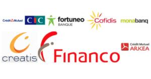 Filiales Crédit Mutuel : CIC Fortunéo Cofidis Monabanq Créatis Financo Arkéa
